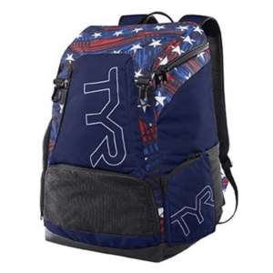 РЮКЗАК TYR ALLIANCE TEAM 45L BACKPACK3 NAVY/RED 404