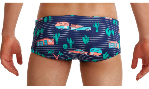 Плавки антихлор Funky Trunks ECO CLASSIC TRUNKS-TRAILER TRASH Розмір B-8, B-10.